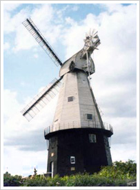 Picture of the mill in Cranbrook, Kent
